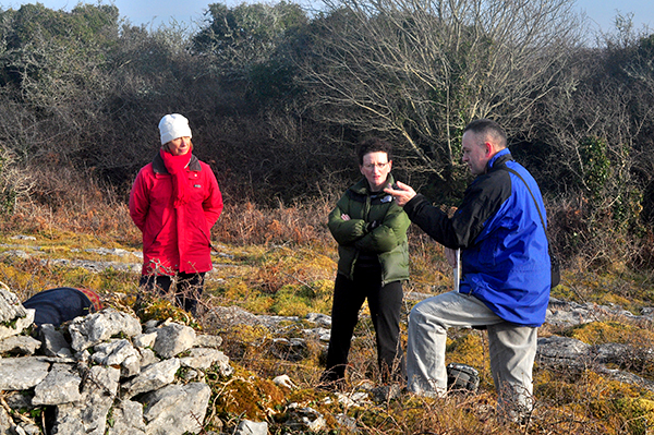Tobar Dubh in Kilnaboy Burren Holy Well