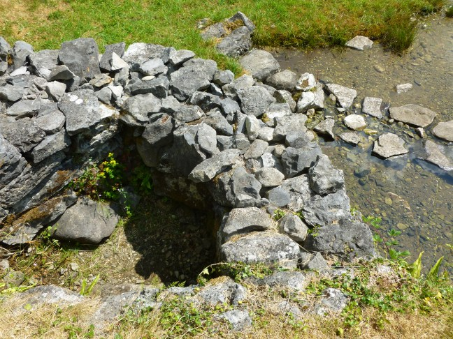 Tobar Colmcille or St Colmcille's Well Burren Holy Wells