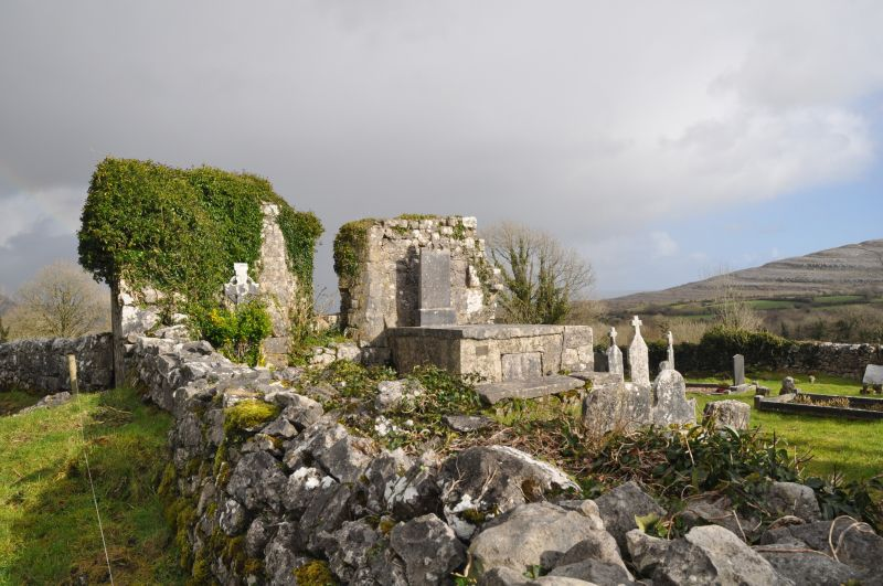 Burren Holy Well church Glencolmcille