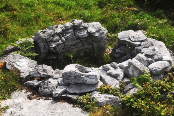 Holy Well Crumlin Fanore offerings Burren Holy Wells