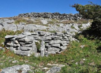 Colmcille Holy Well in Fanore - Burren Holy Wells